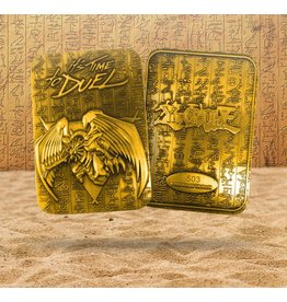 YU-GI-OH! Gold 24K Plated God Card - Winged Dragon of Ra LTD