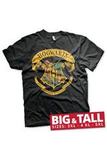 HARRY POTTER - T-Shirt Big & Tall - Hogwarts Crest (4XL)