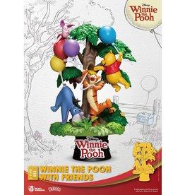 Beast Kingdom WINNIE THE POOH D-Stage Diorama 15cm - Winnie with Friends