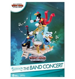 Beast Kingdom MICKEY MOUSE D-Stage Diorama 16cm - The Band Concert
