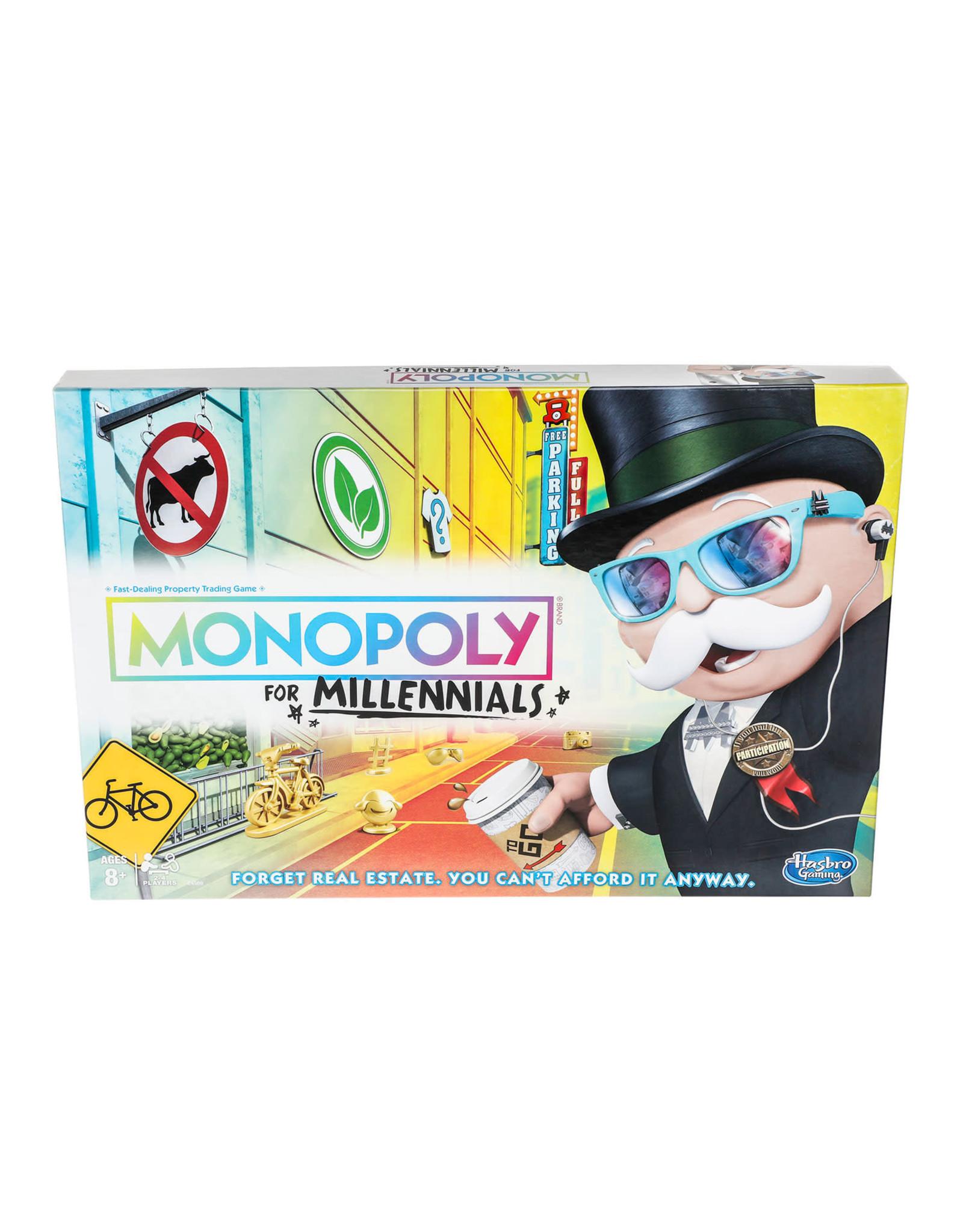 MILLENNIALS Monopoly (UK)