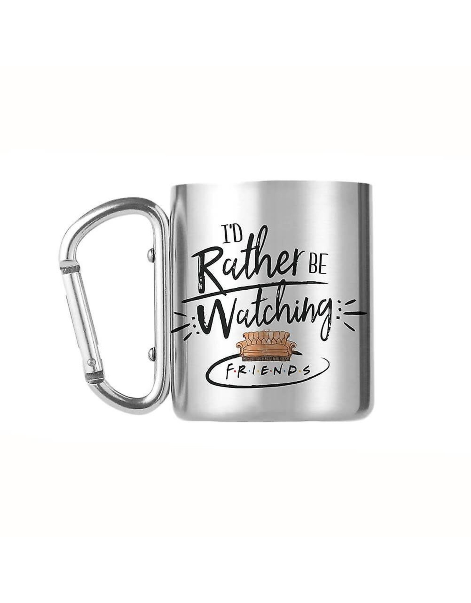 GBEye FRIENDS Carabiner Mug 240ml - Rather Be Watching