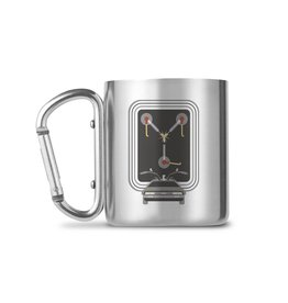 GBEye BACK TO THE FUTURE Carabiner Mug 240ml - Flux Capacitor