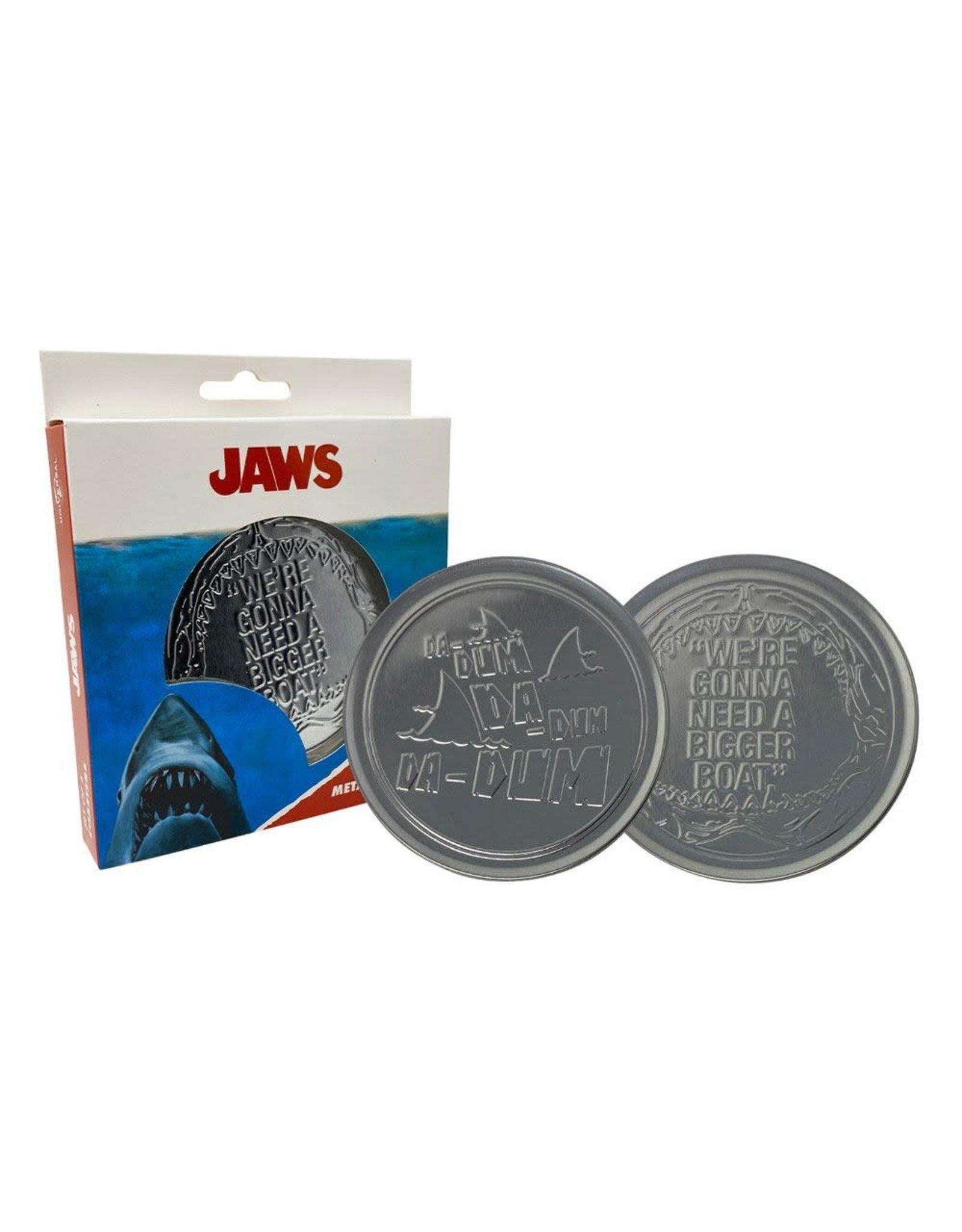 JAWS - Set of 4 Metal Coasters