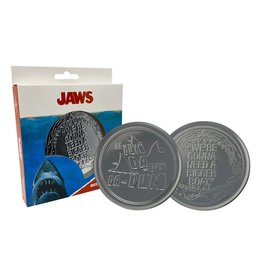 JAWS - Set of 4 Metal Coasters