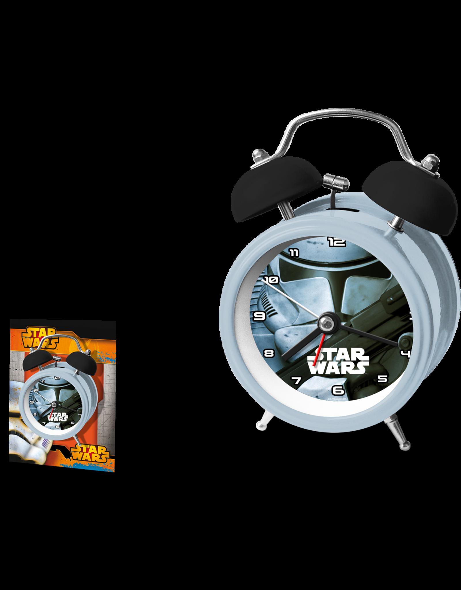 Euroswan STAR WARS Twinbell Alarm Clock - Trooper