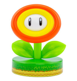 SUPER MARIO Icon Light 10cm - Fire Flower