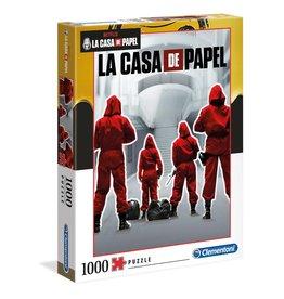 Clementoni CASA DE PAPEL Puzzle 1000P -  Backs
