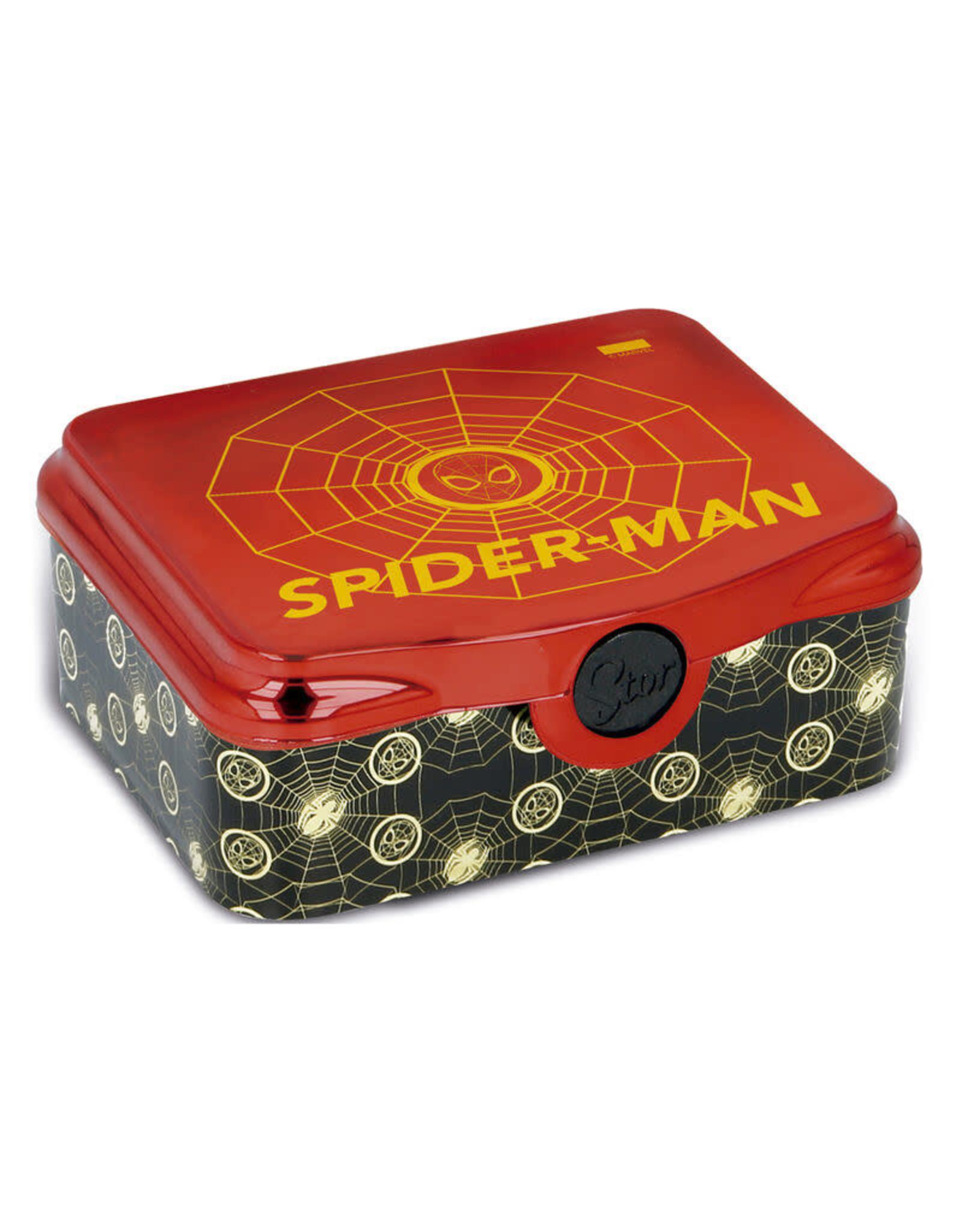 Stor SPIDER-MAN Lunch Box - Golden Webs