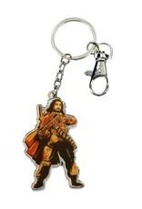 SD Toys STAR WARS Rogue One Metal Keychain - Baze Malbus