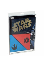 SD Toys STAR WARS Set of 4 Placemats and Napkins - Logos