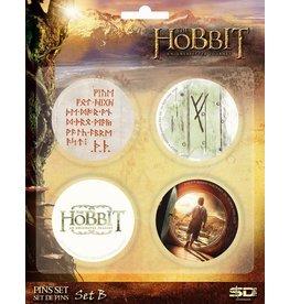 SD Toys THE HOBBIT 4-Pack Badges