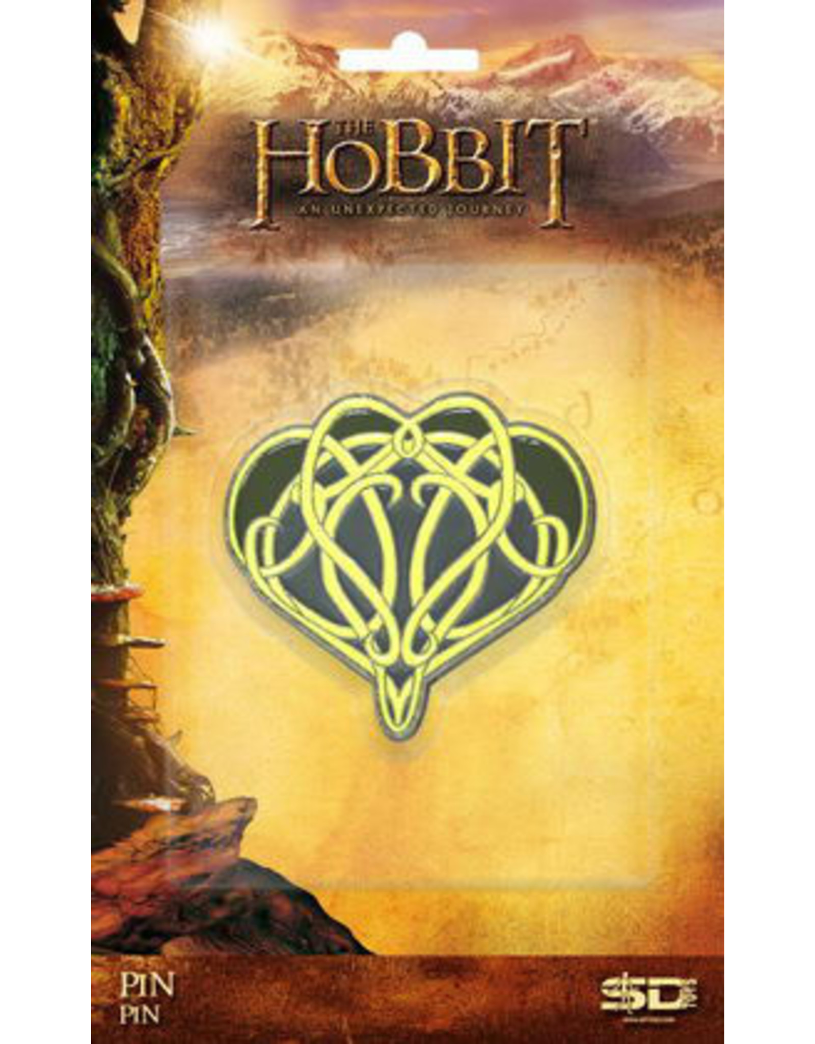 SD Toys THE HOBBIT Pin Badge 5cm - Elrond