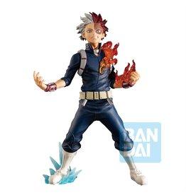 Banpresto MY HERO ACADEMIA Ichibansho PVC Statue 18 cm - Shoto Todoroki (Next Generations! feat. Smash Rising)