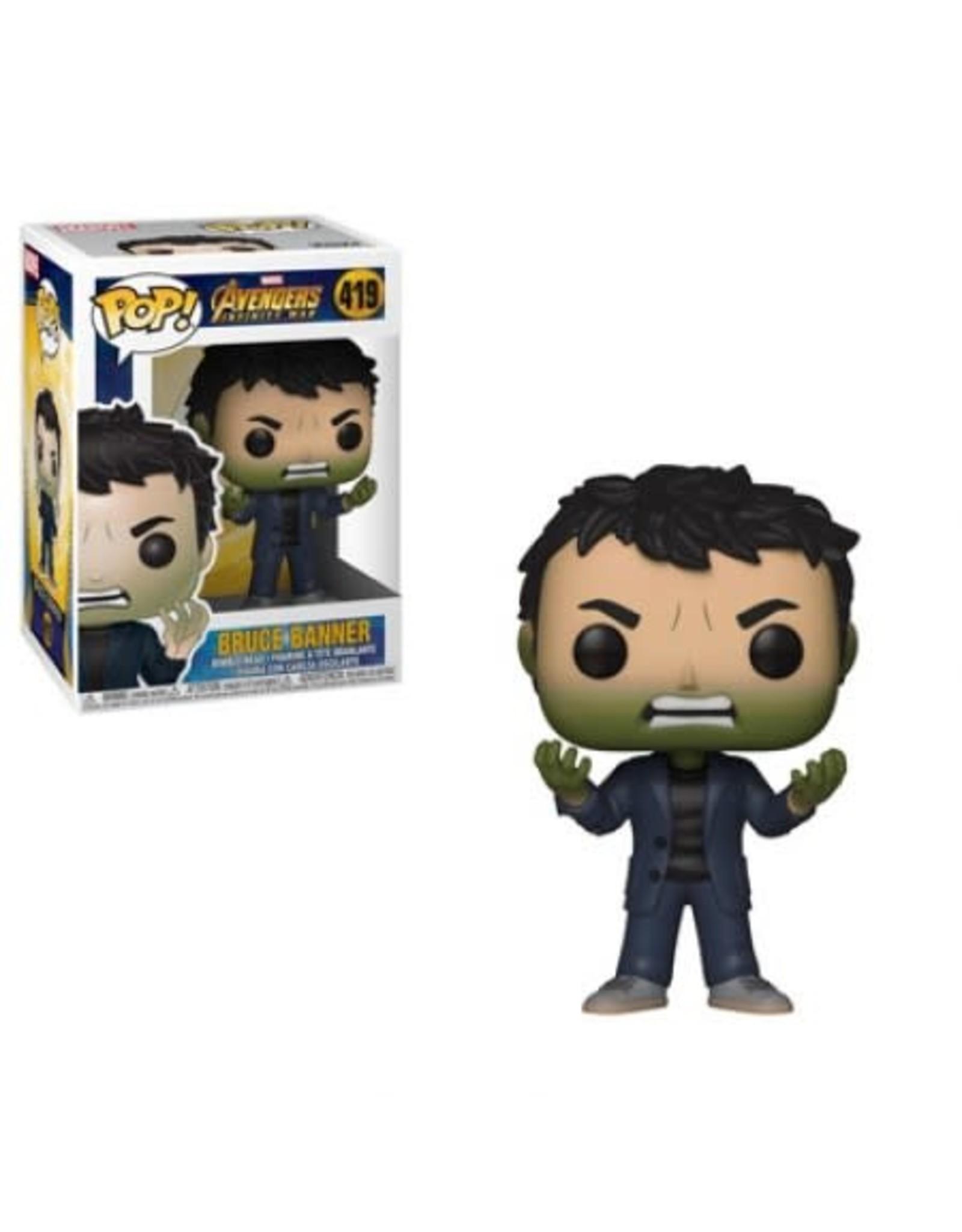 AVENGERS INFINITY WAR - Bobble Head POP N° 419 - Banner Hulk Head