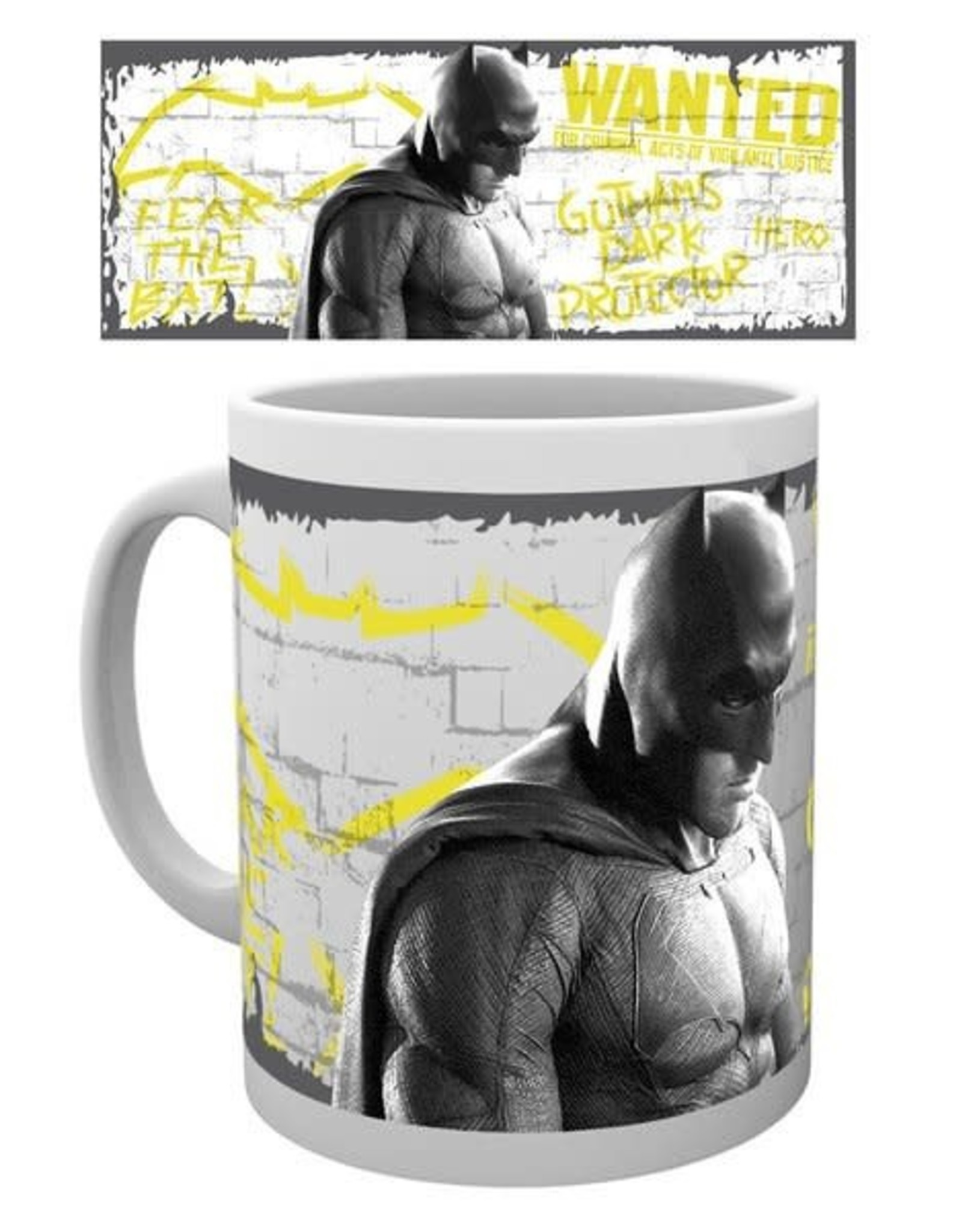 BATMAN VS SUPERMAN - Mug - 300 ml - Wanted