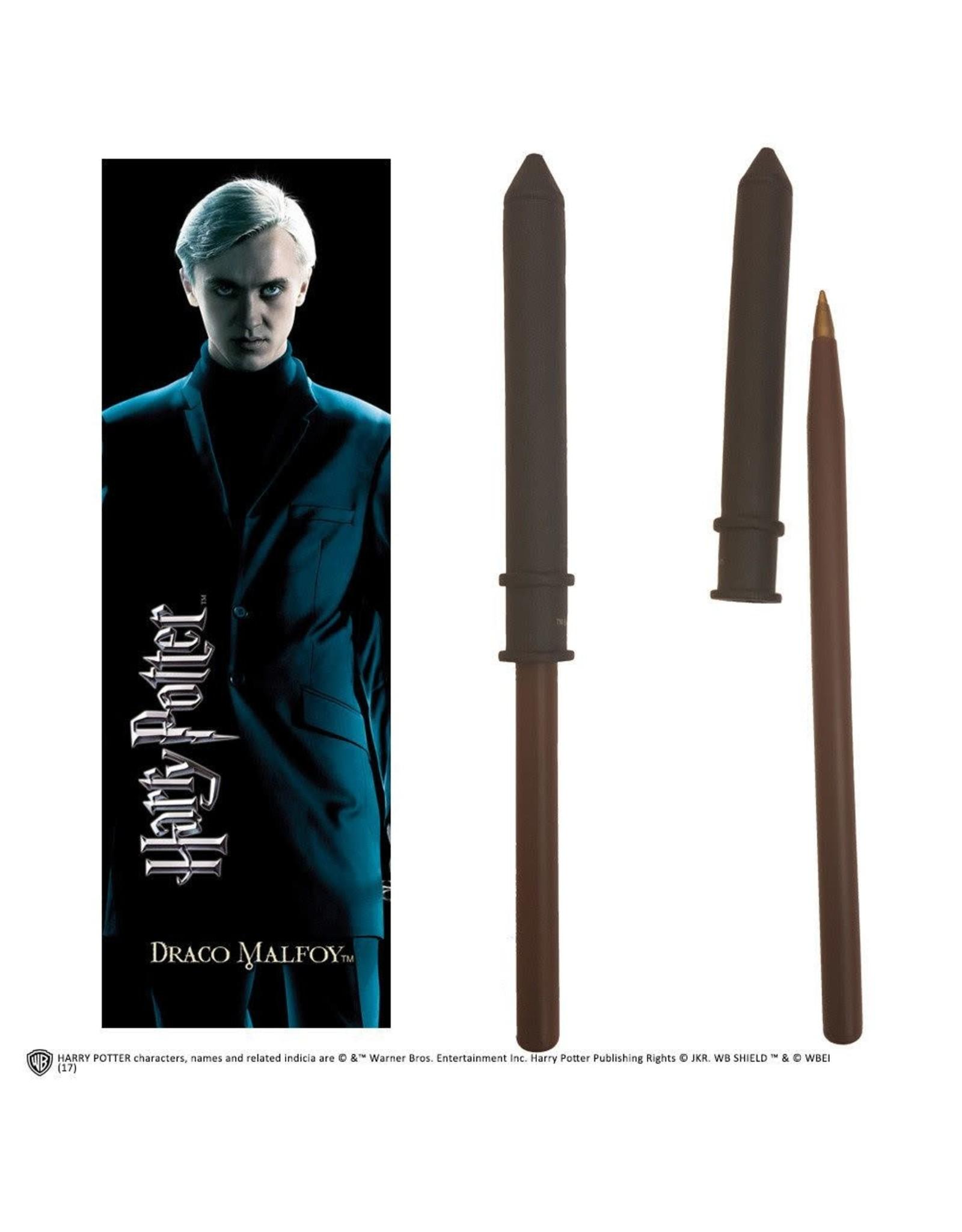 HARRY POTTER Pen + Bookmark - Draco Malfoy