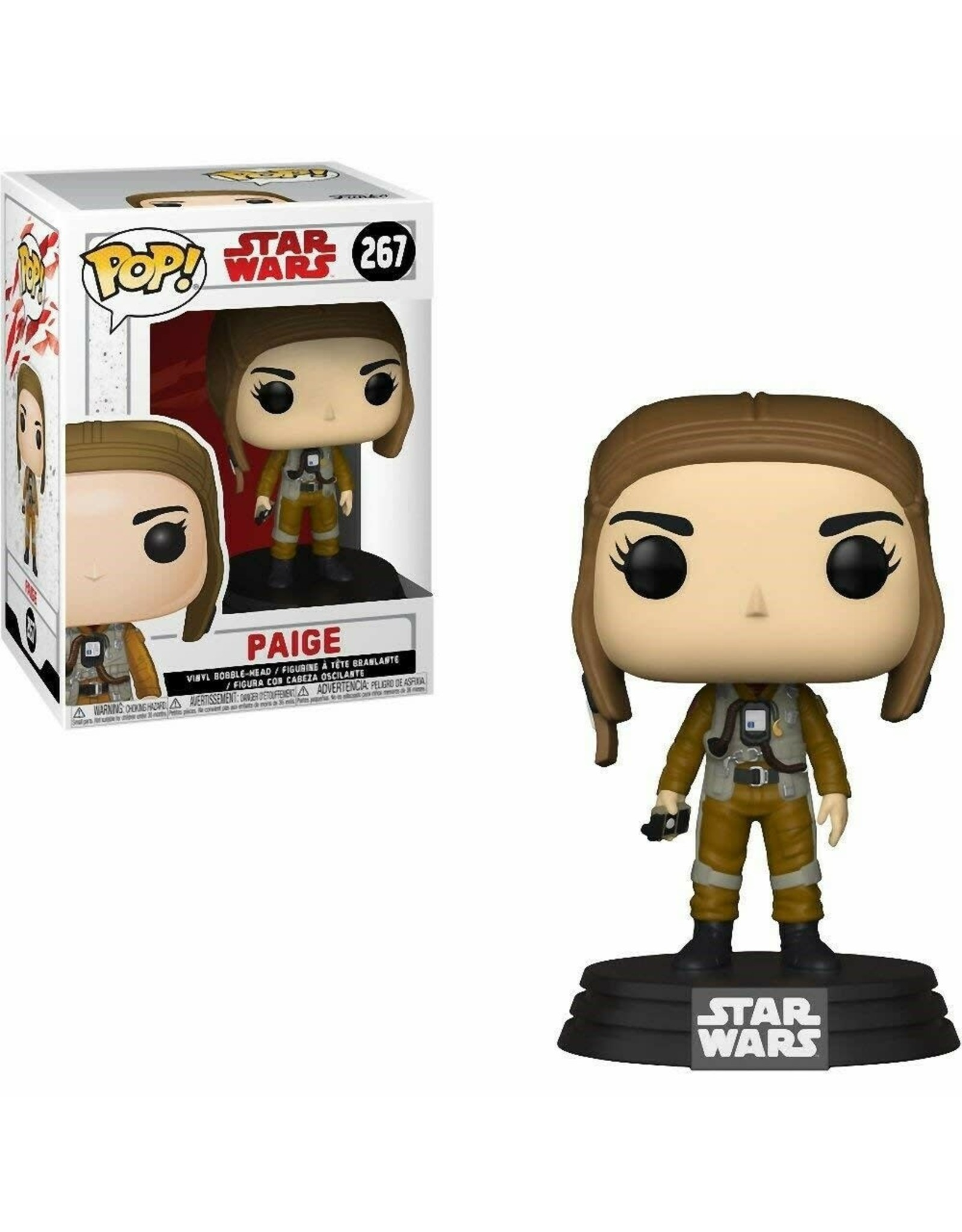 STAR WARS - Bobble Head POP N° 267 - Paige