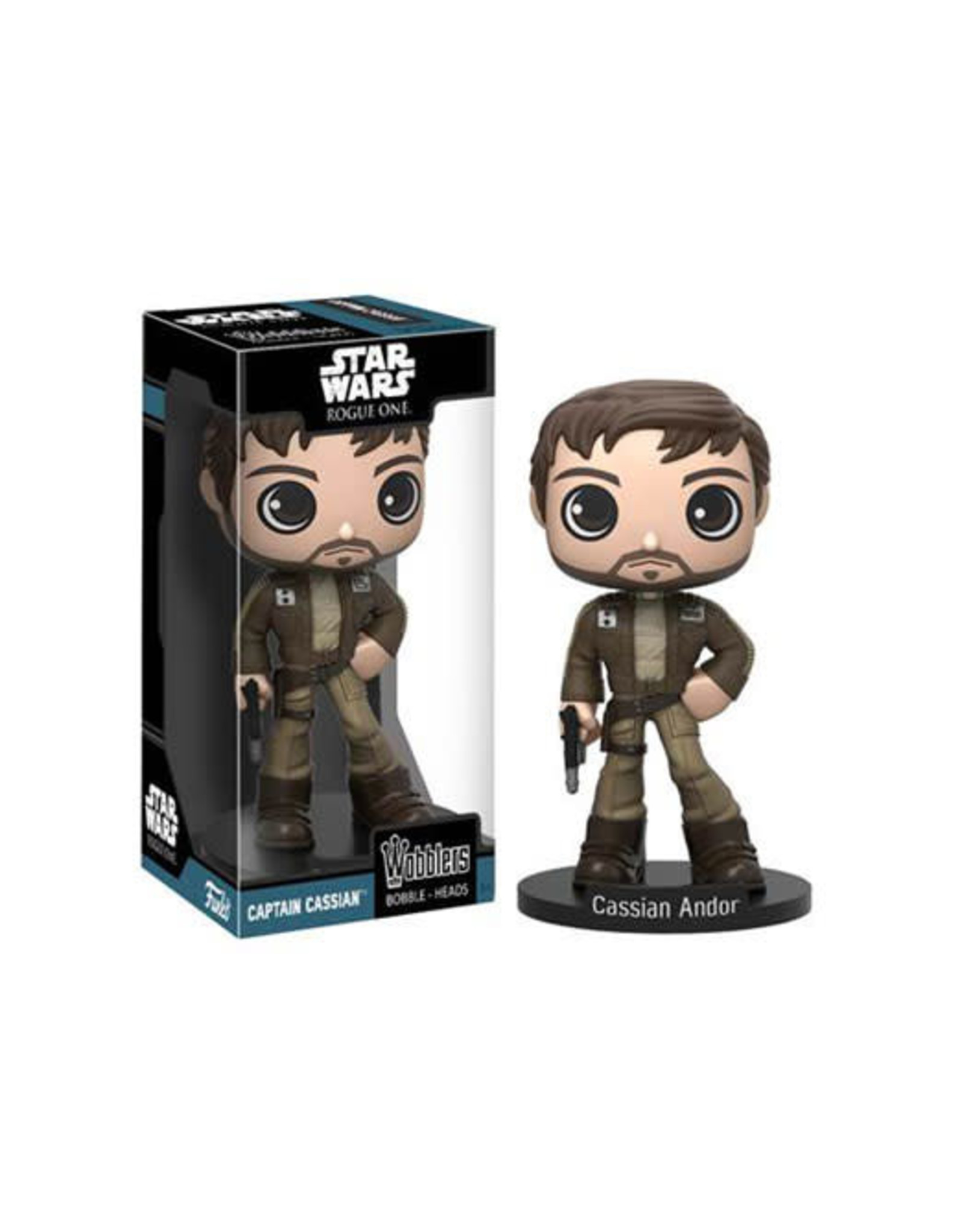 STAR WARS ROGUE ONE - Wobbler - Cassian Andor - 16cm
