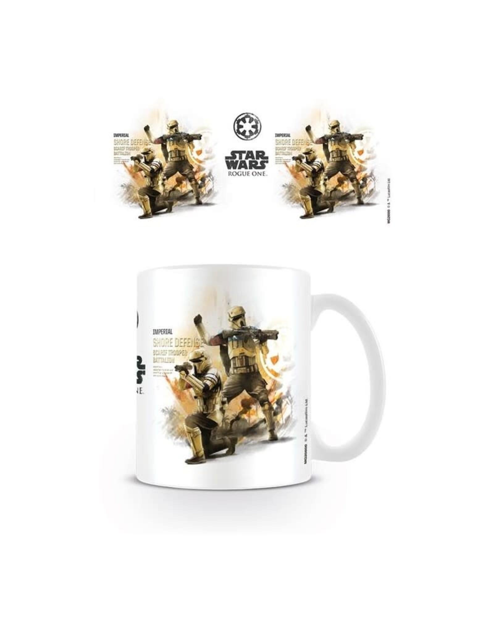 Star Wars Rogue One Mug Shore Trooper