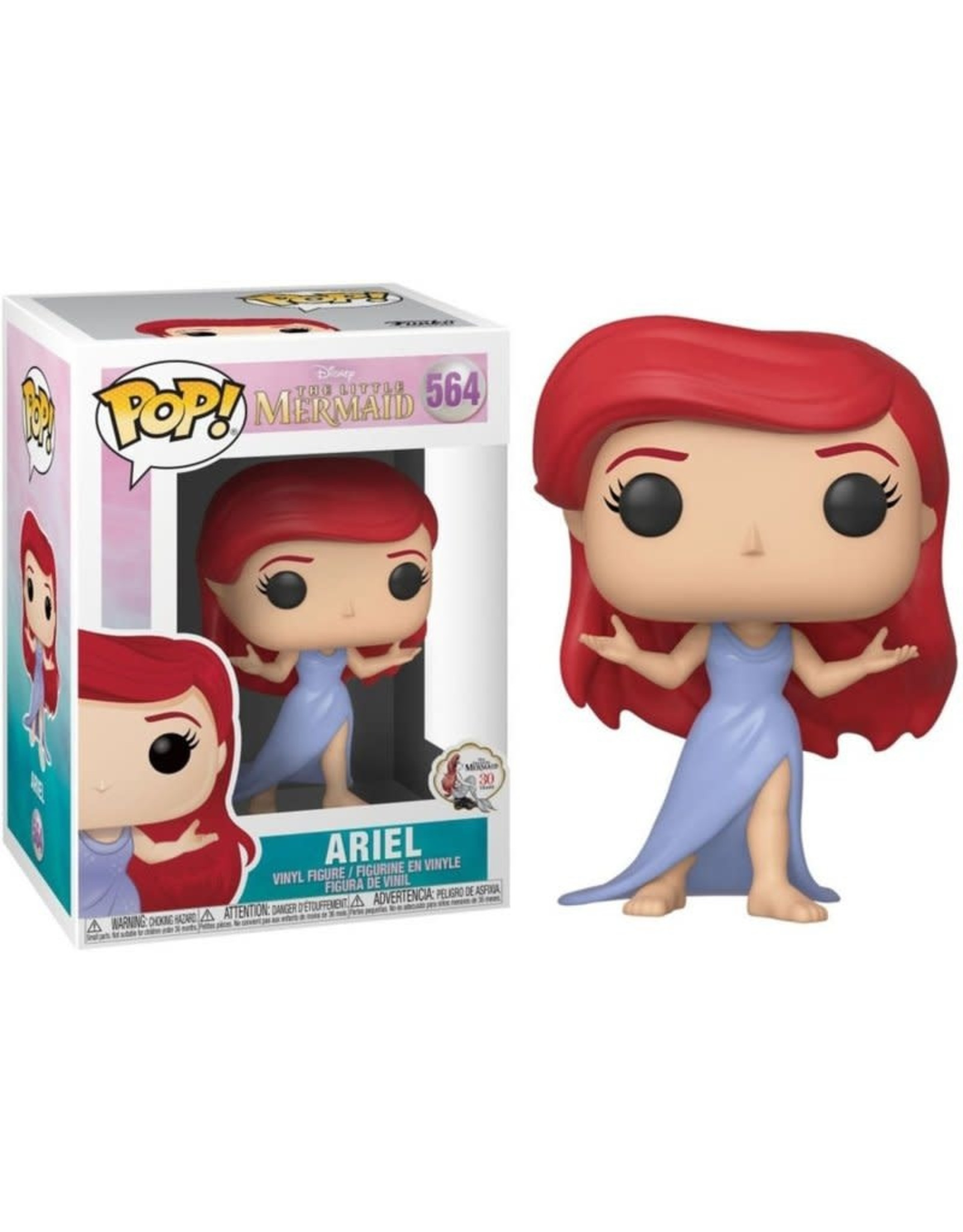 The Little Mermaid POP! Disney Vinyl Figure Ariel (Purple Dress) 9 cm