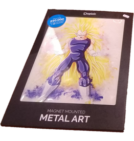 RAPTURE- Magnetic Metal Poster 45x32 - Vegeta SSJ3