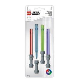 Joy Toy STAR WARS LEGO Gel Pens 4-Pack - Lightsaber