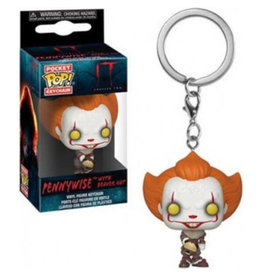 Funko IT CHAPTER 2 Pocket POP! 4cm - Pennywise With Beaver Hat
