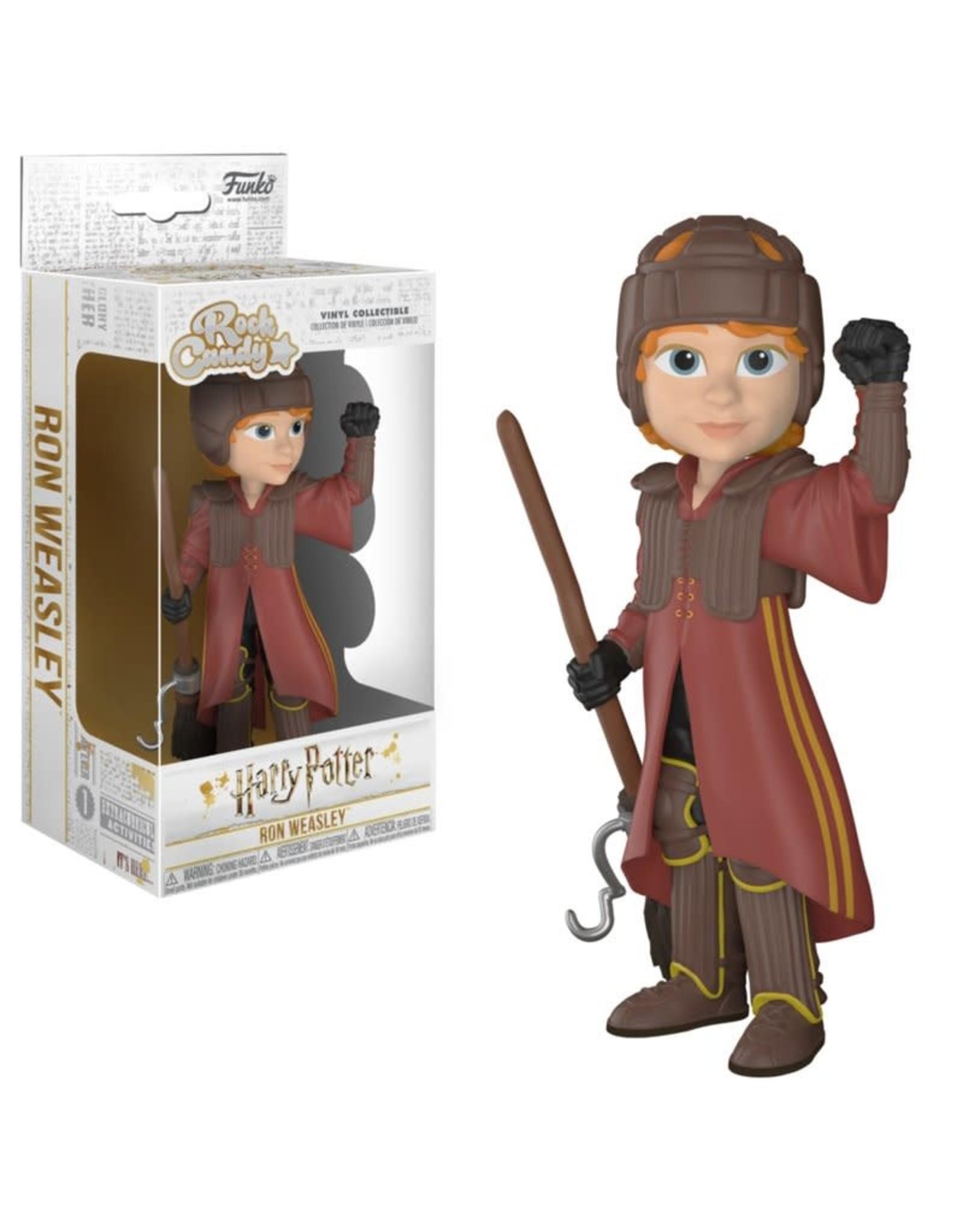 Harry Potter Rock Candy Vinyl Figure Ron in Quidditch Uniform 13 cm