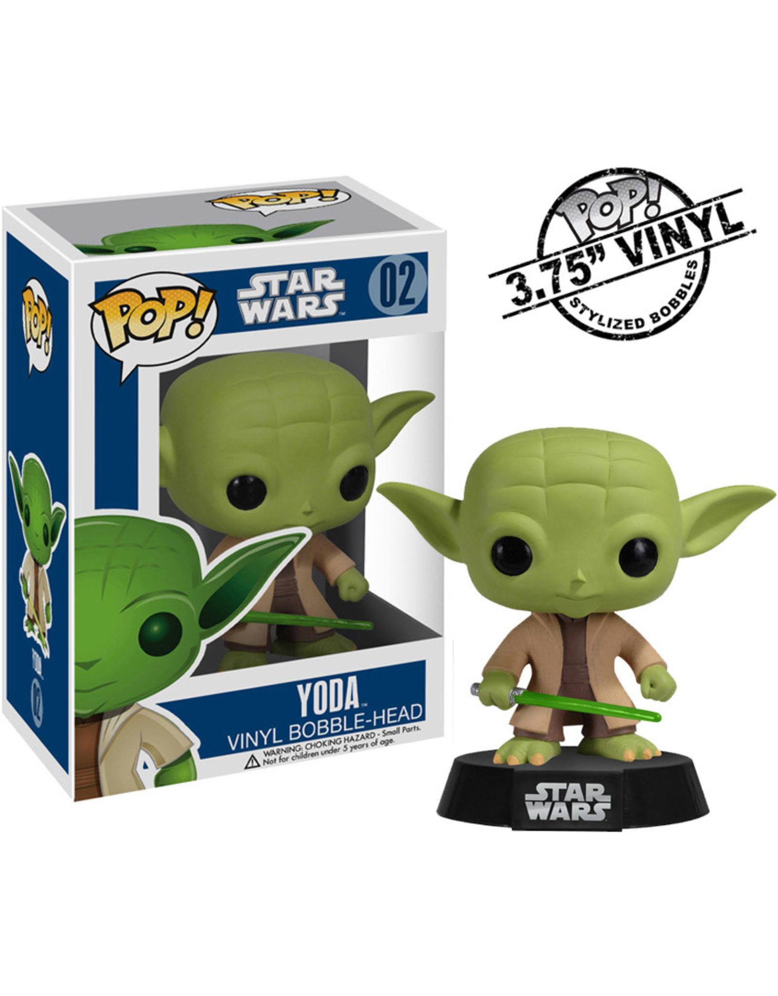 Funko STAR WARS POP! N° 02 10cm - Yoda