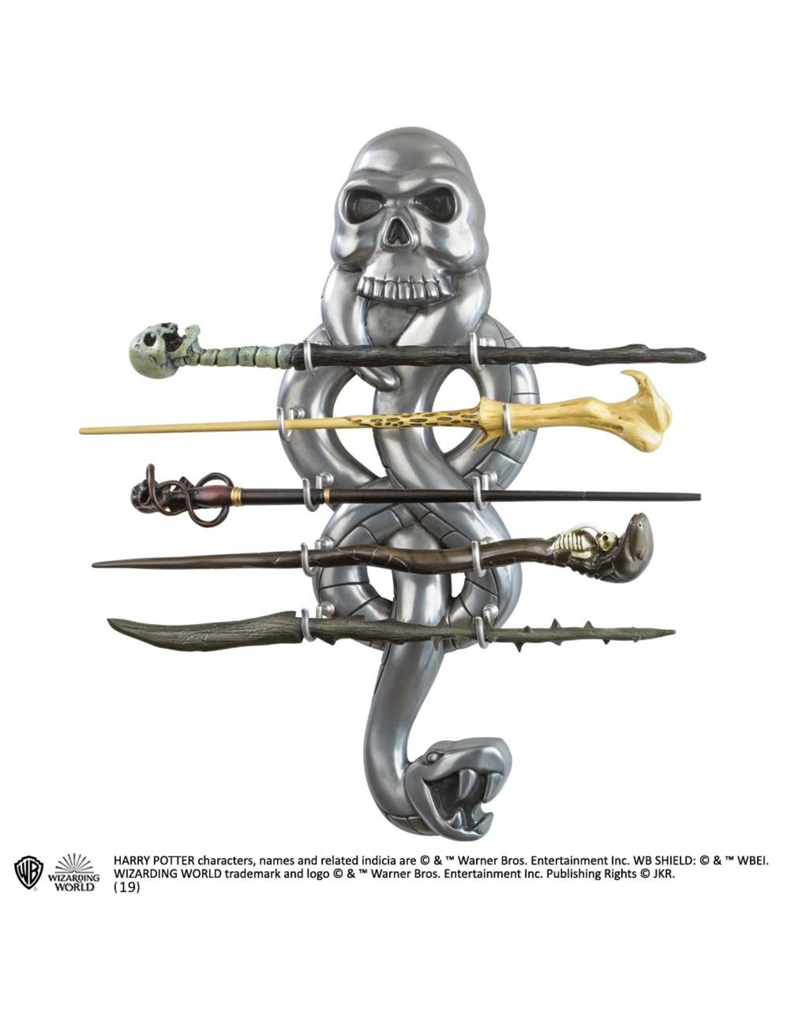 Noble Collection HARRY POTTER Wand Display -  The Dark Mark