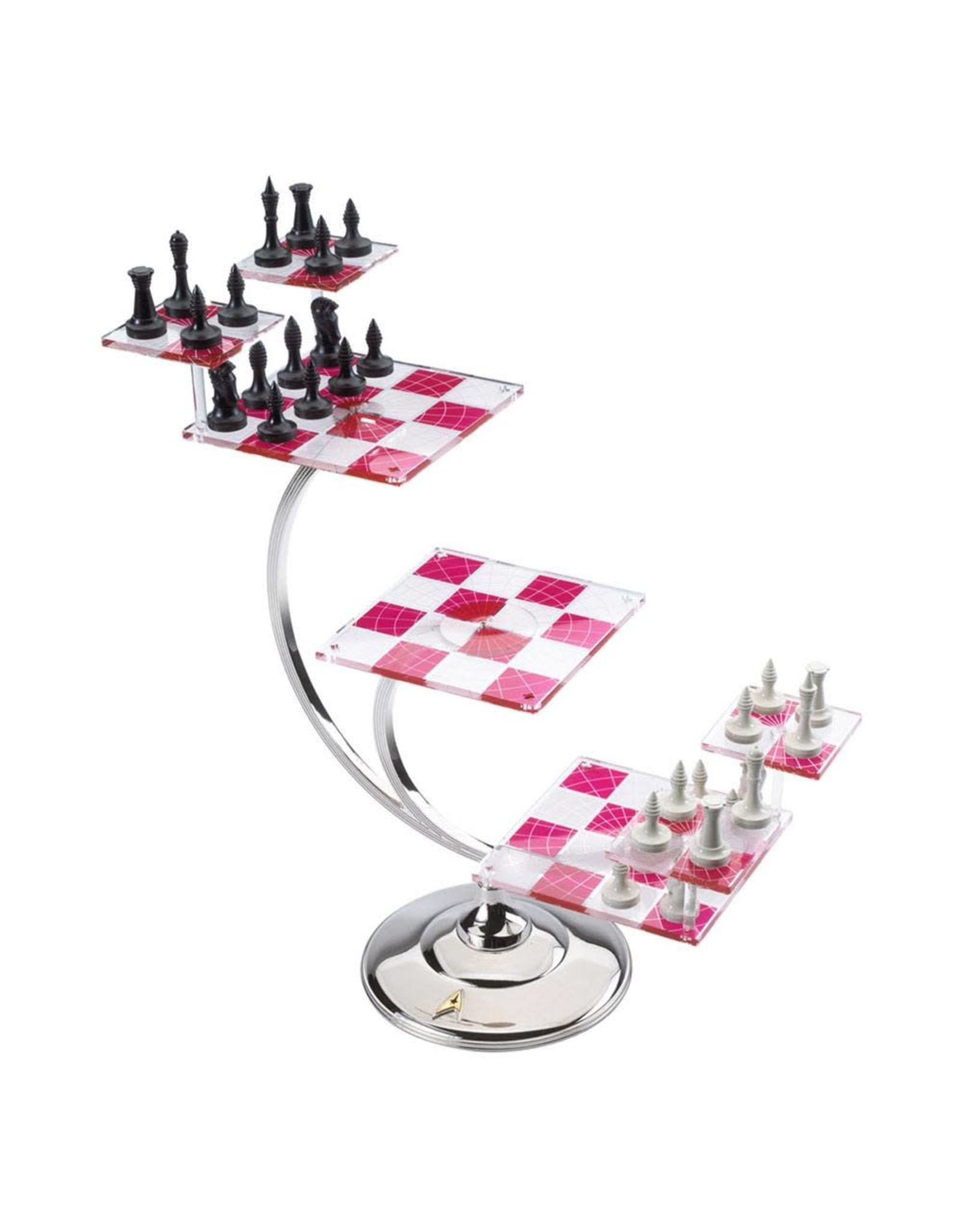 Noble Collection STAR TREK Tri-Dimensional Chess Set