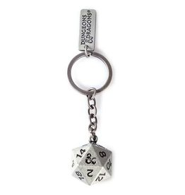 Difuzed DUNGEONS & DRAGONS Metal Keychain - Dice