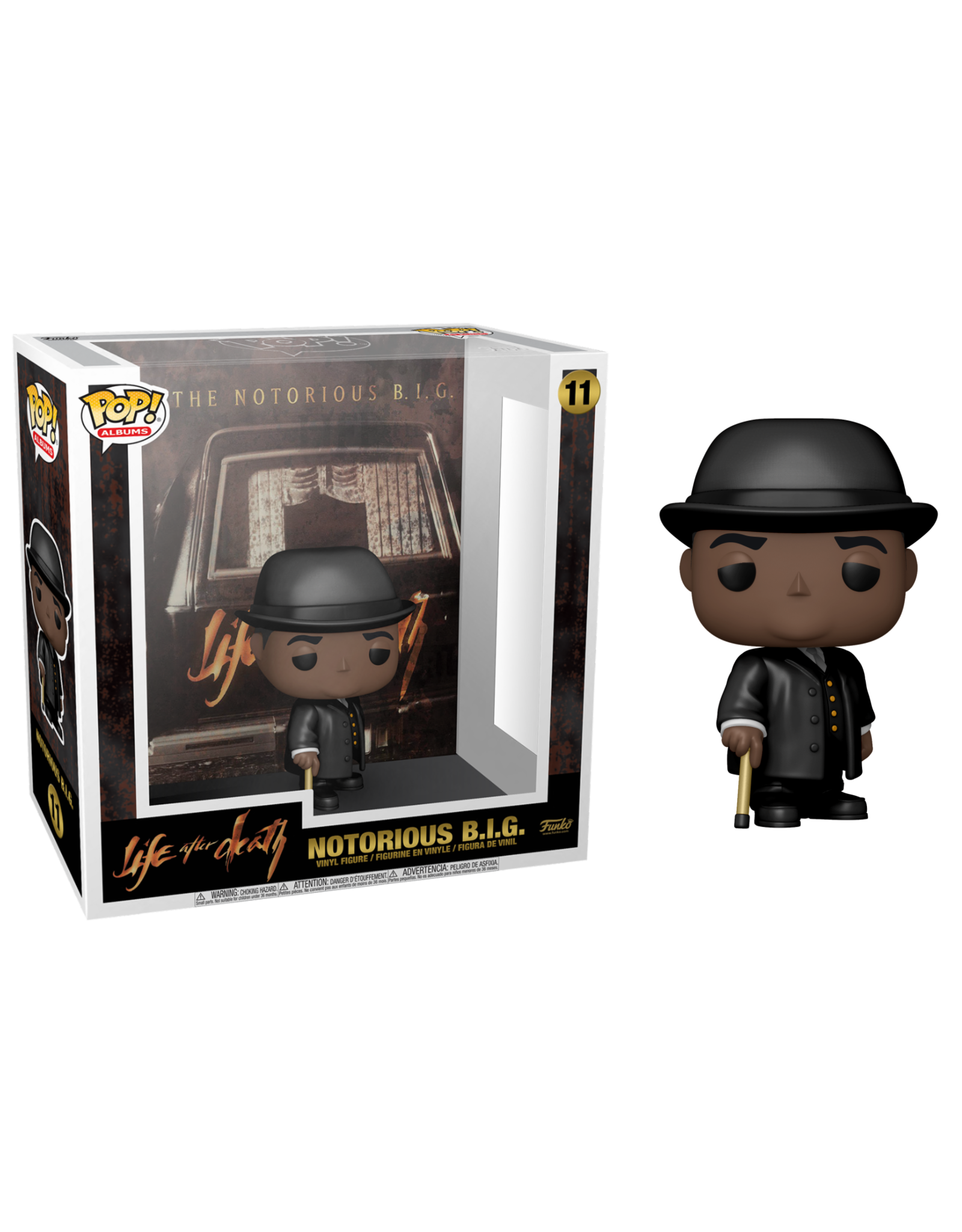 Funko NOTORIOUS B.I.G. Albums POP! N°11 - Life After Death