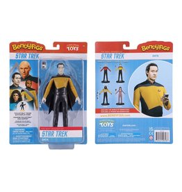 Noble Collection STAR TREK The Next Generation Bendable Figure 19cm - Cmdr. Data
