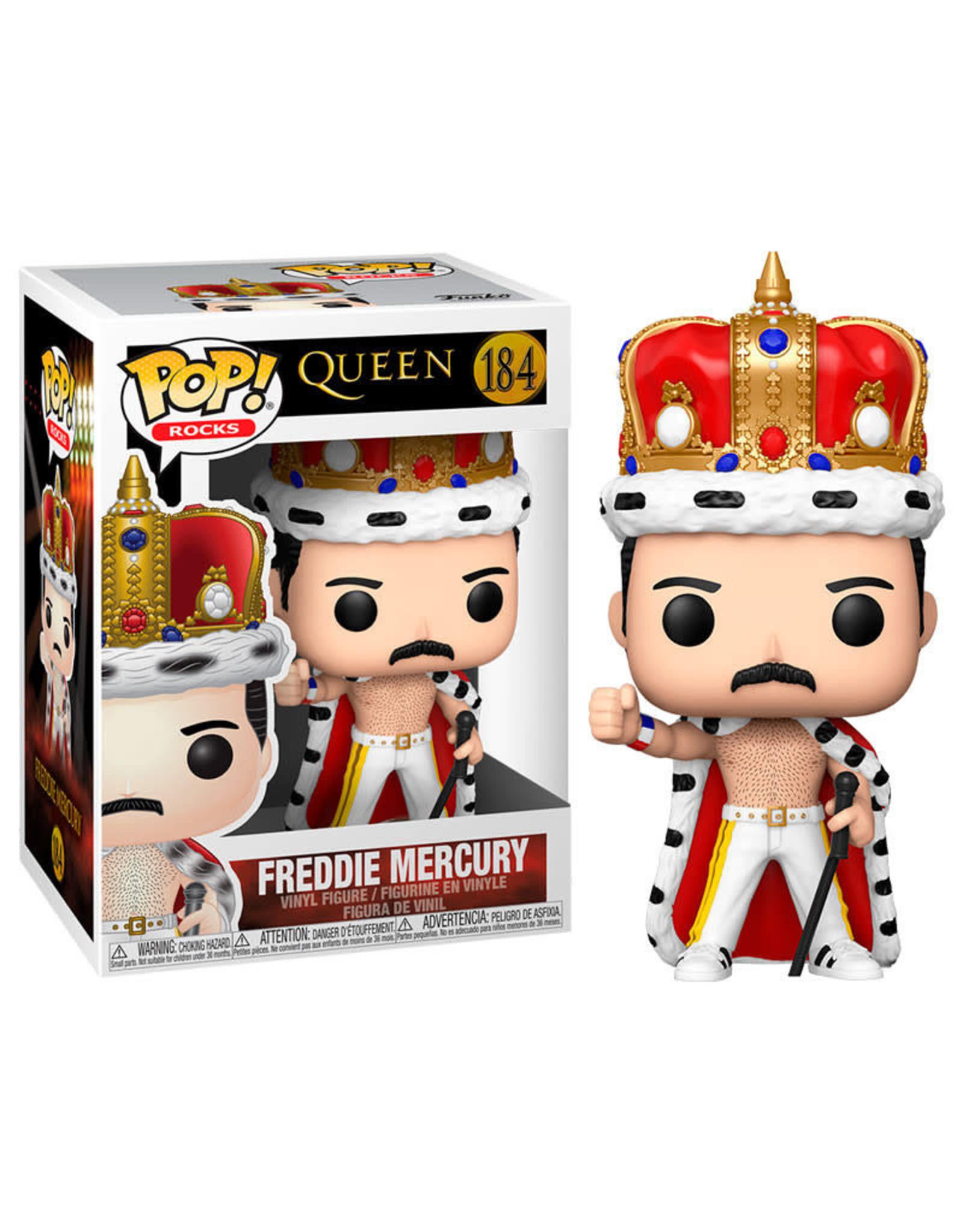 Funko QUEEN POP! N°184 - Freddie Mercury King