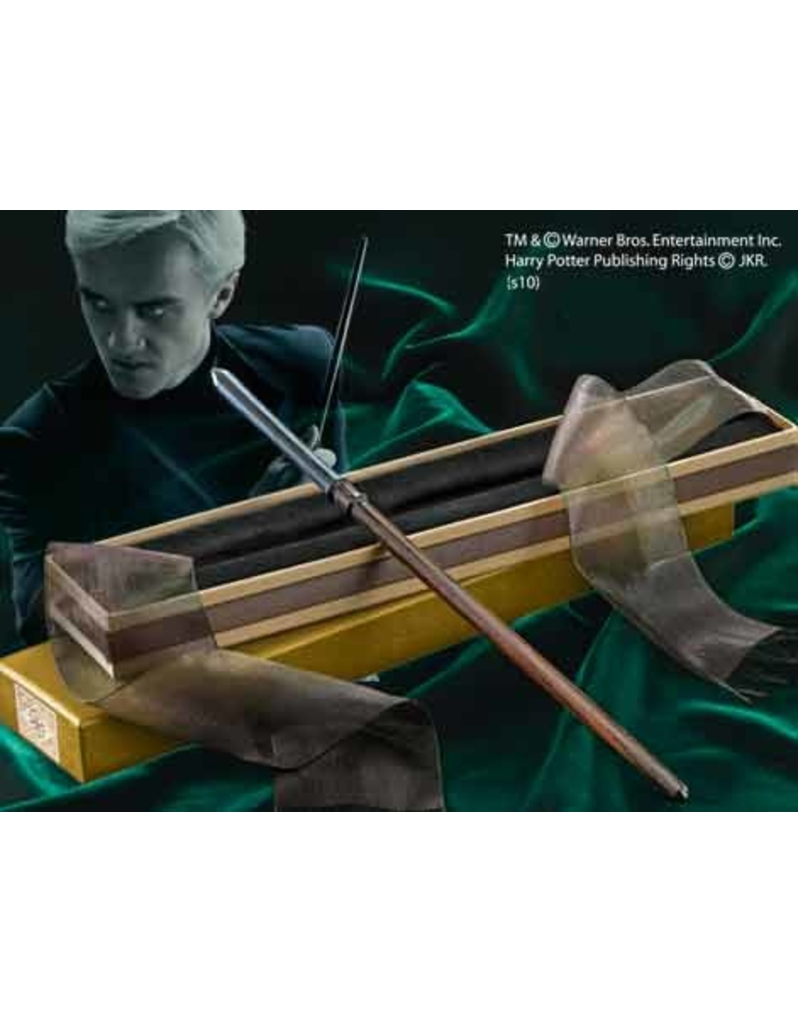 Noble Collection HARRY POTTER Ollivander Wand - Draco Malfoy