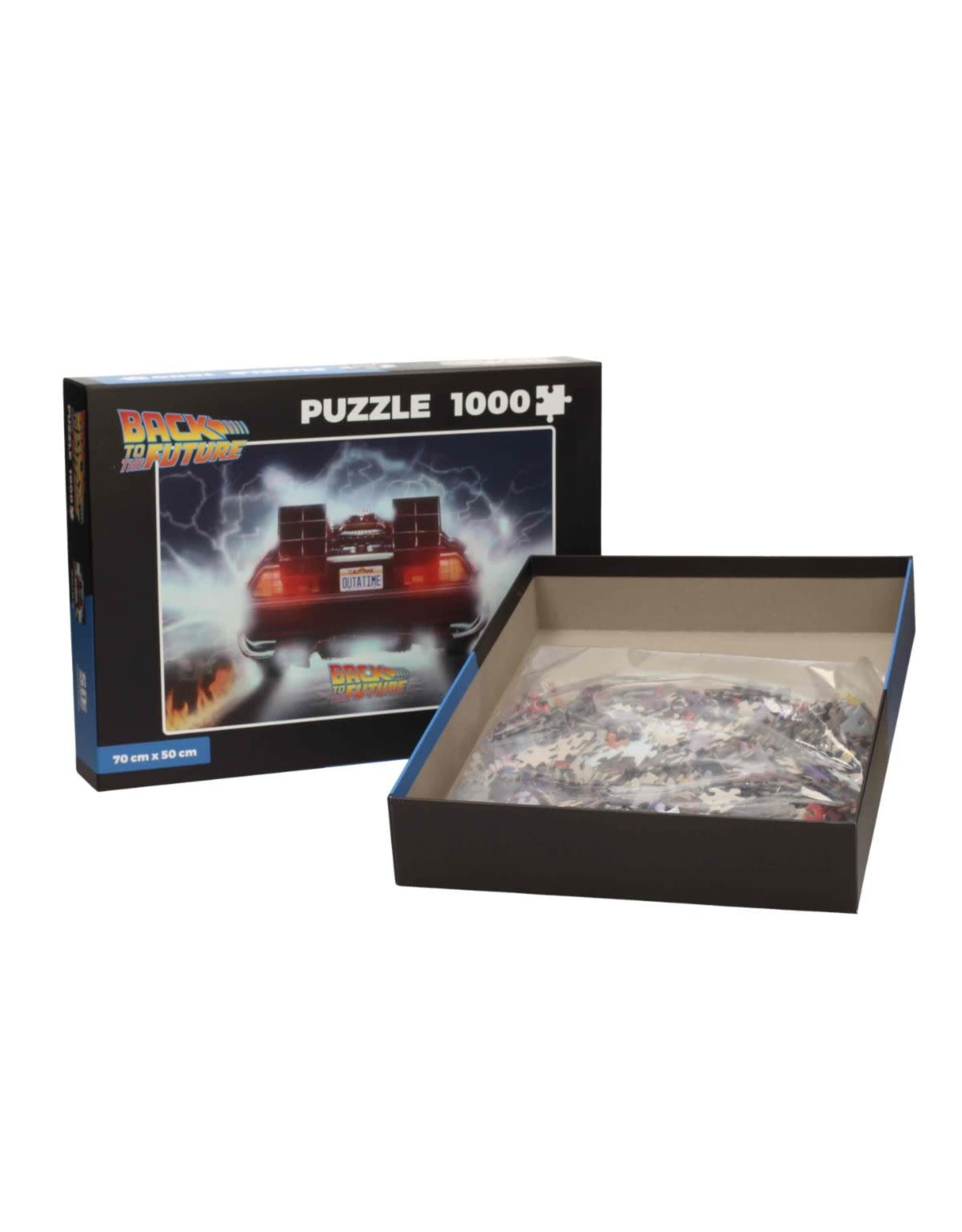 SD Toys BACK TO THE FUTURE Puzzle 1000P - Delorean Out of Tme