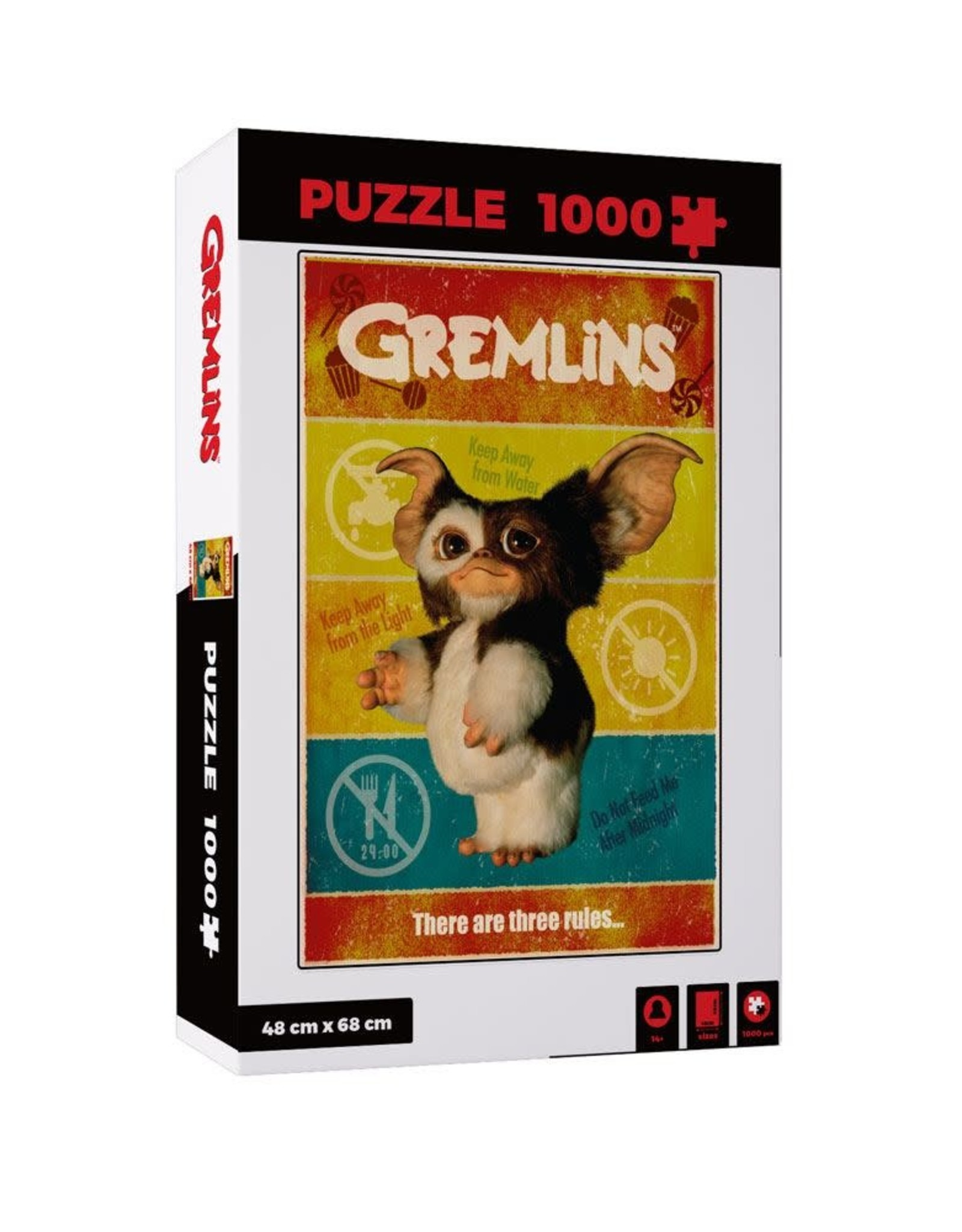 SD Toys GREMLINS Puzzle 1000P -  There Are Three Rules