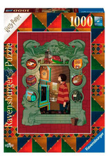 Ravensburger HARRY POTTER Puzzle 1000P - Harry Potter at home with the Weasly family
