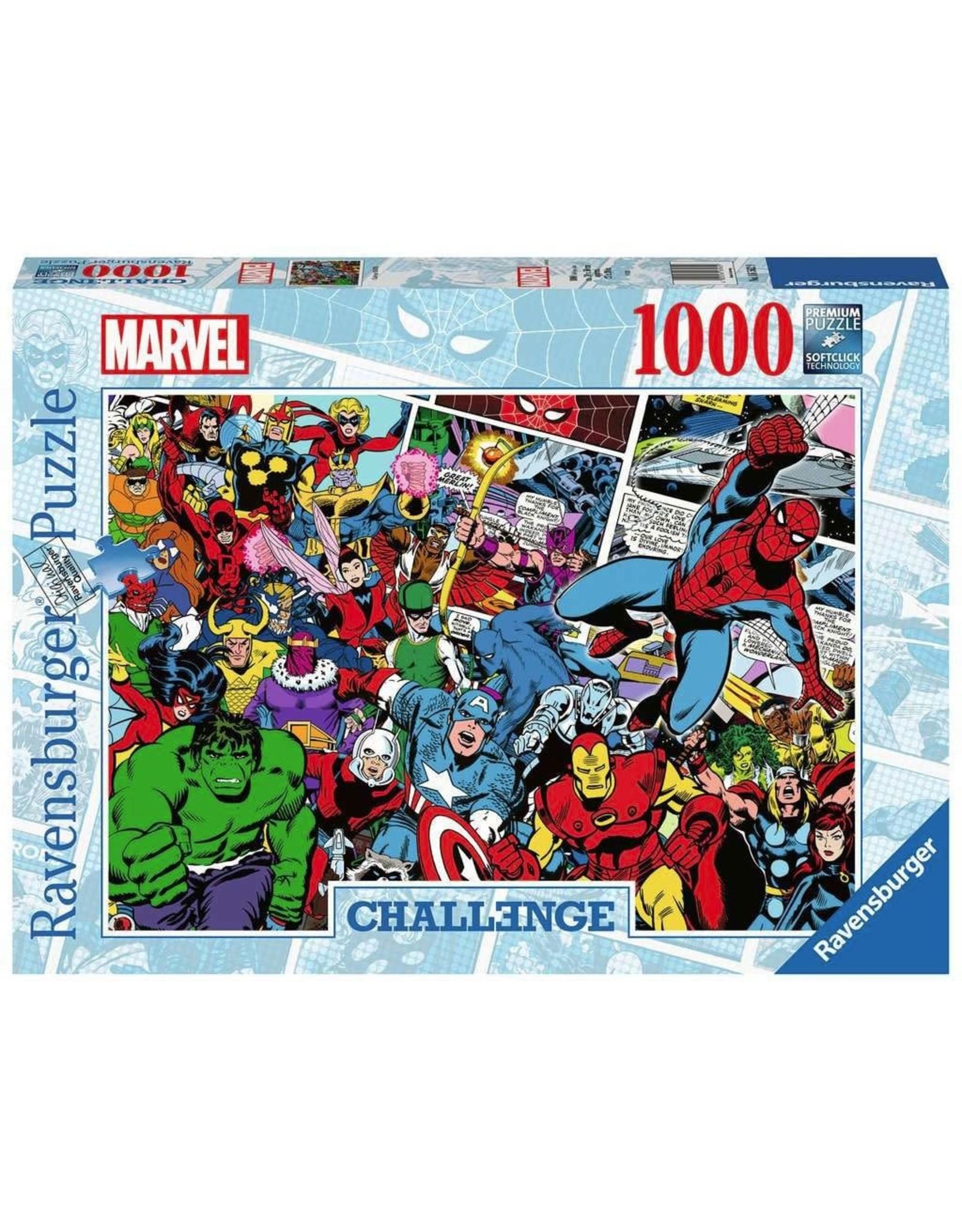 Ravensburger MARVEL Challenge Puzzle 1000P - Comics