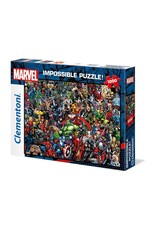 Clementoni MARVEL Impossible Puzzle 1000P - 80th Anniversary Characters
