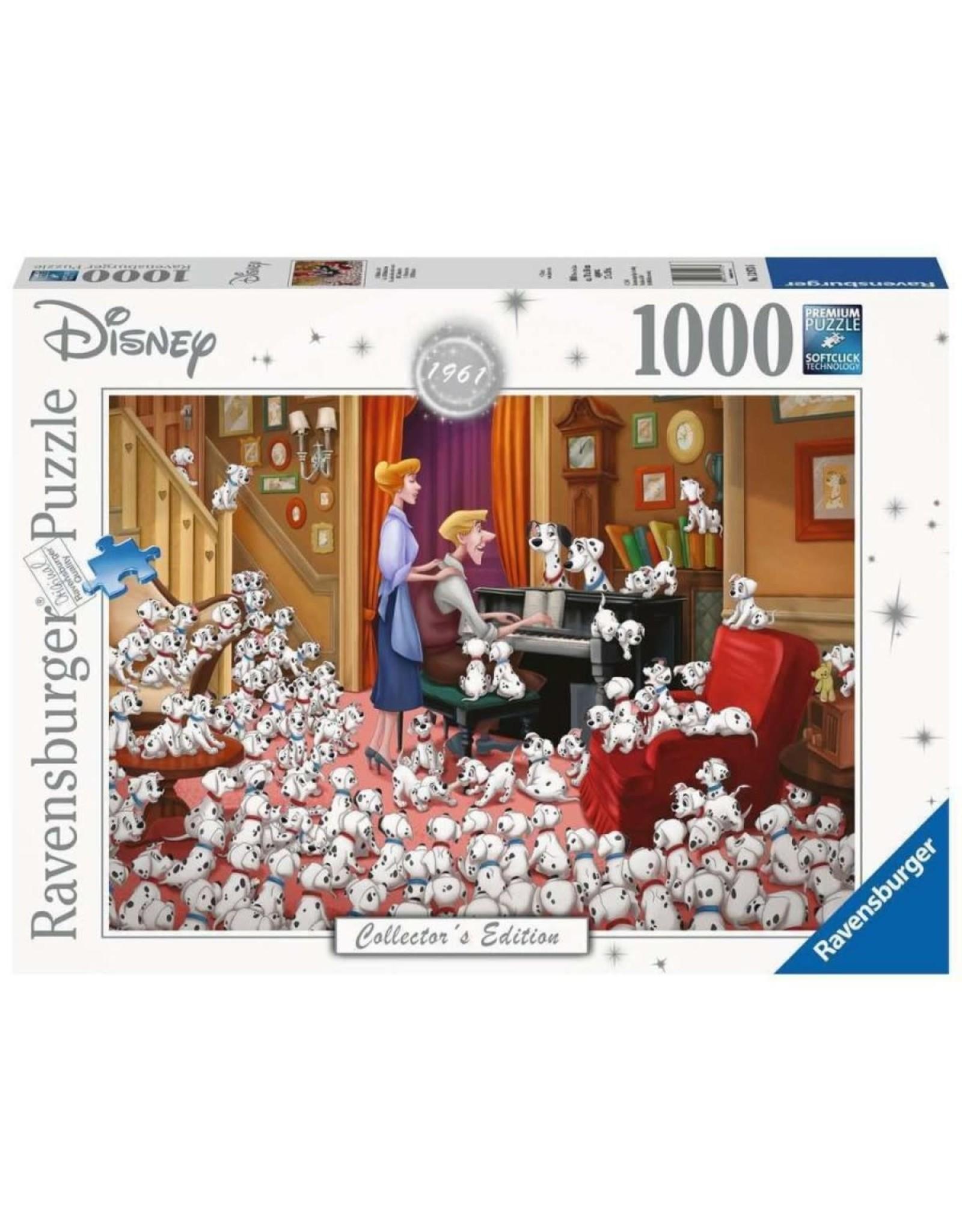 Ravensburger 101 DALMATIANS Puzzle 1000P - Collector's Edition
