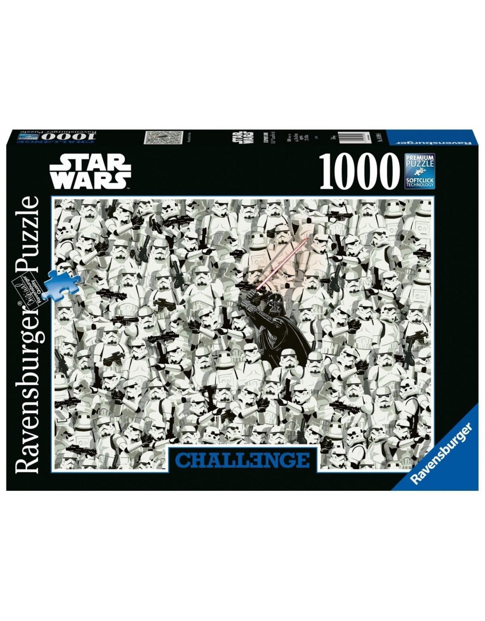 Ravensburger STAR WARS Challenge Puzzle 1000P - Stormtroopers