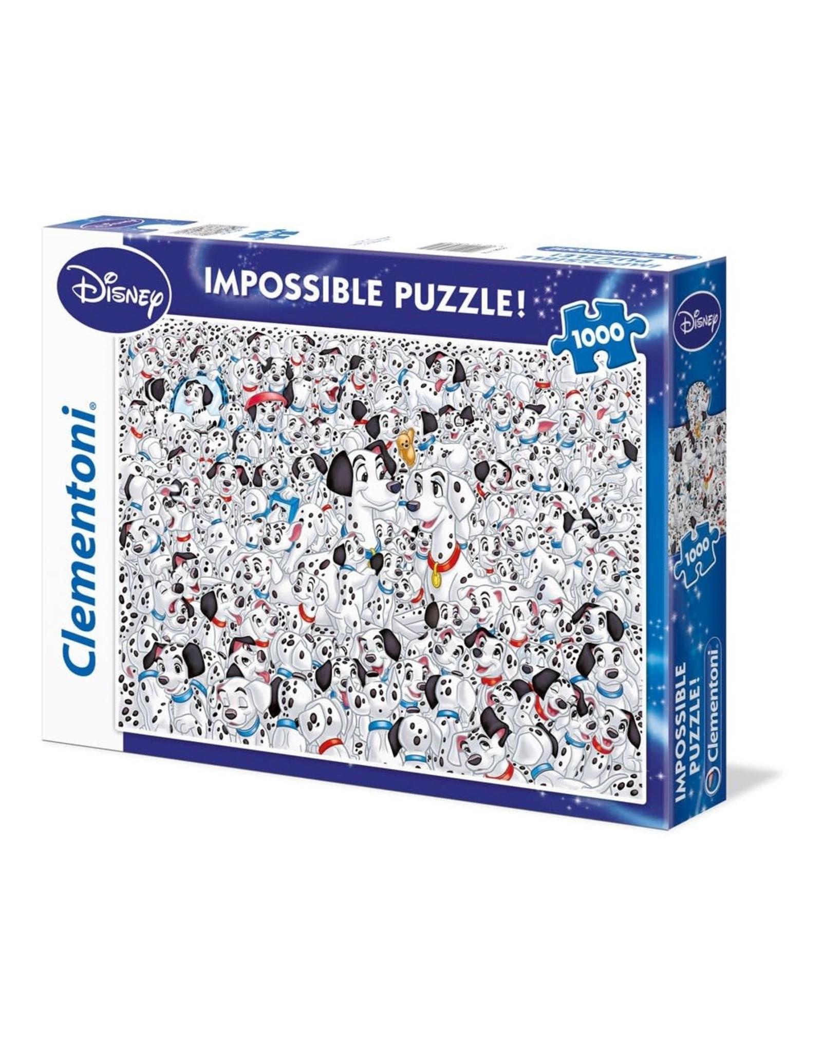 Clementoni 101 DALMATIANS Impossible Puzzle 1000P