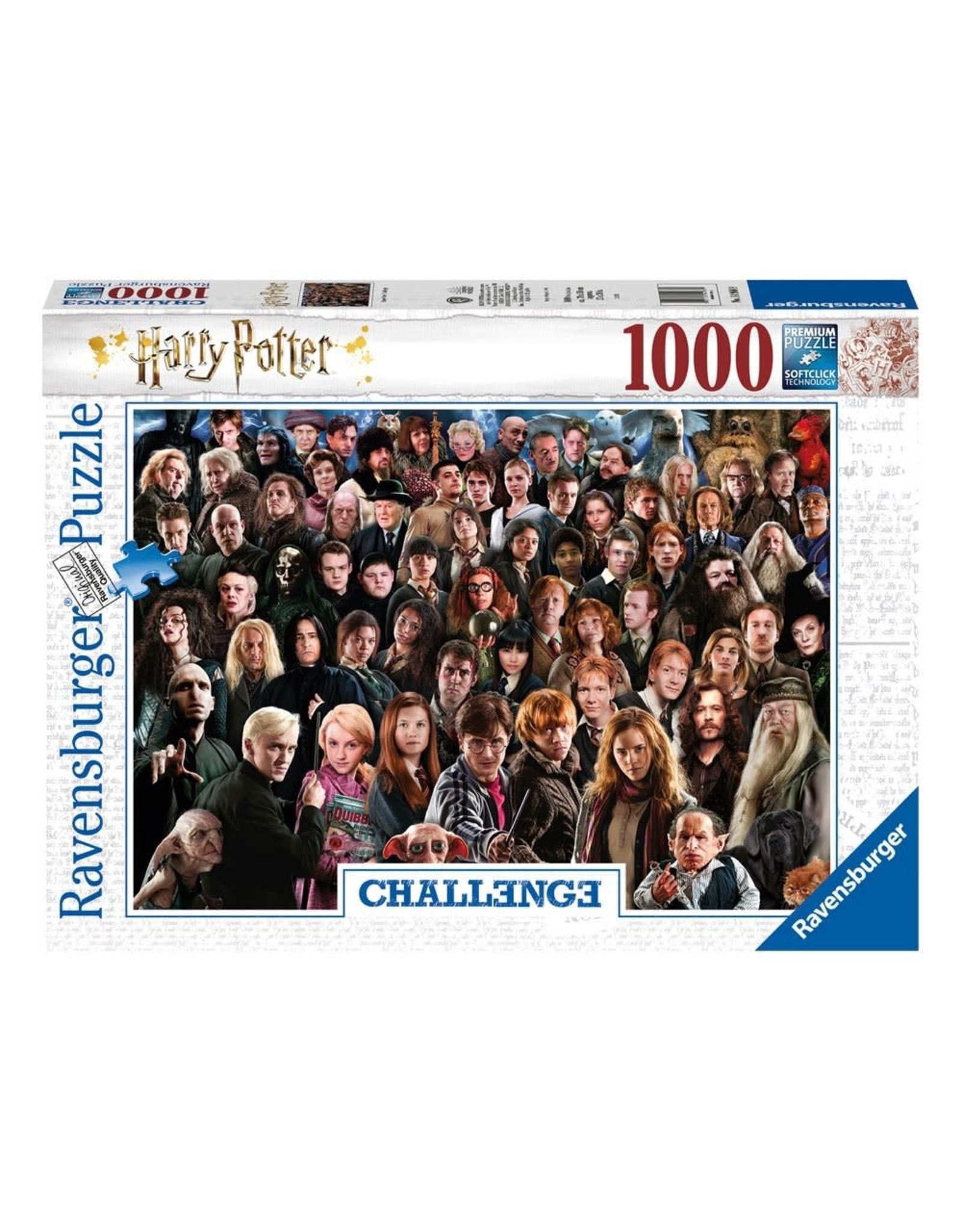 Ravensburger HARRY POTTER Challenge Puzzle 1000p - Cast