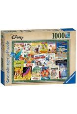 Ravensburger DISNEY Puzzle 1000P - Vintage Movie Poster