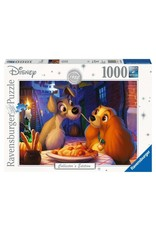 Ravensburger LADY AND THE TRAMP Puzzle 1000P - Collector's Edition