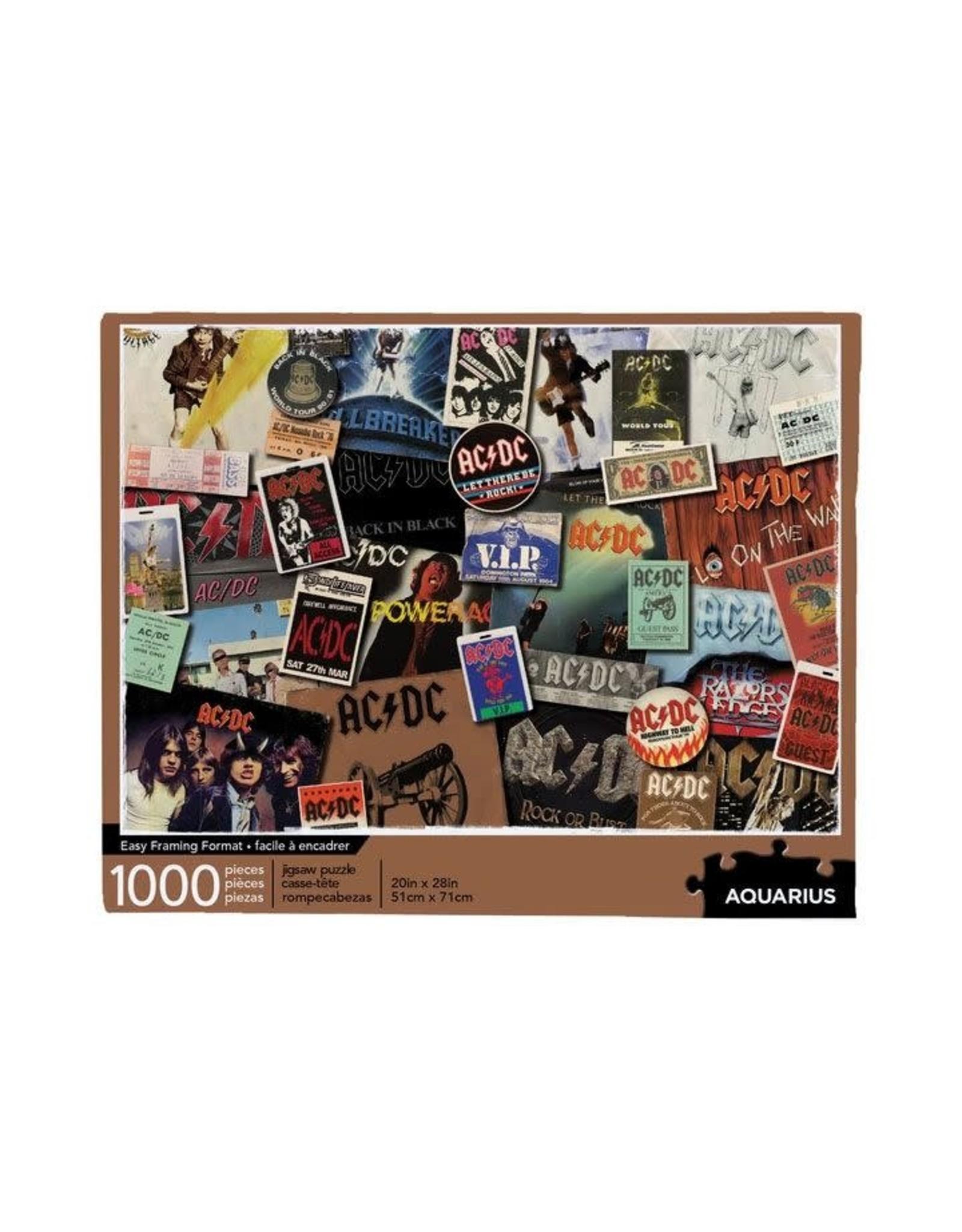 Aquarius Ent AC/DC Puzzle 1000P - Albums