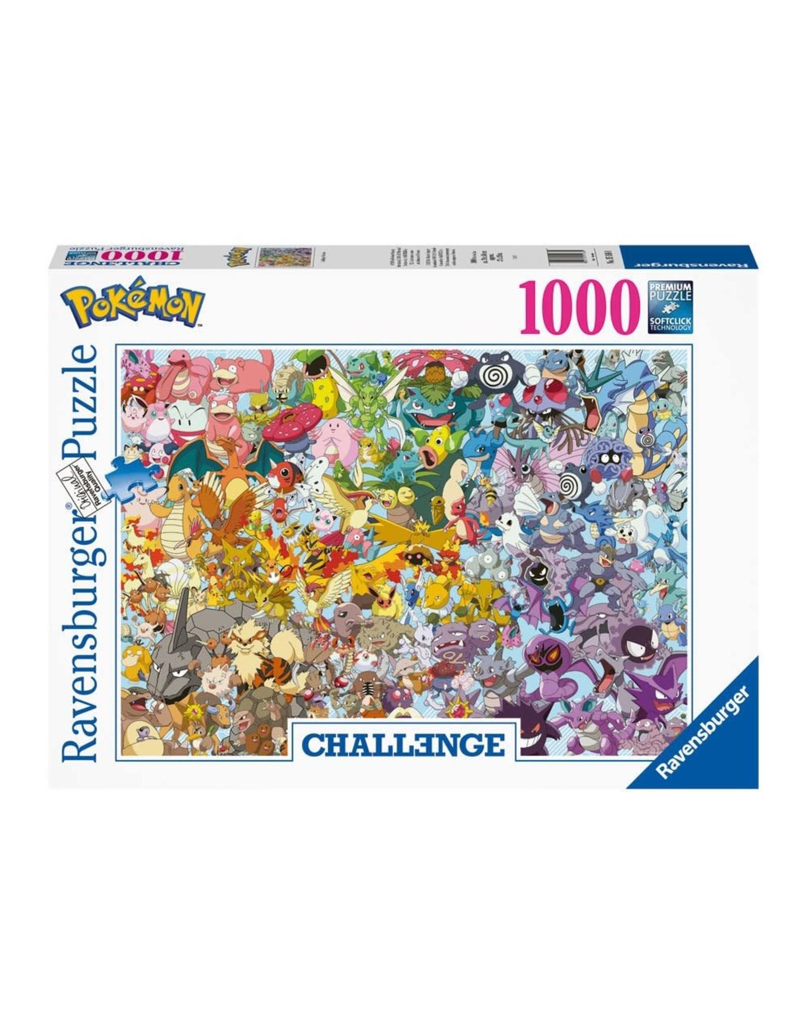 Ravensburger POKEMON Challenge Puzzle 1000P